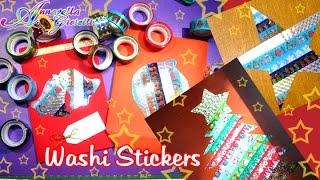 Stickers di Natale con Washi Tape | feat. SsVersion DIY