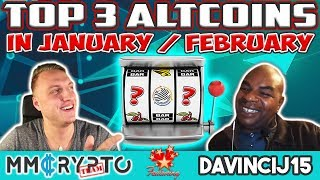 "Davincij15: ''TOP 3 ALTCOINS / CRYPTOs to watch NOW!"""
