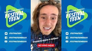 Baixar STORIES - LINEUP DO FESTIVAL    Festival Teen