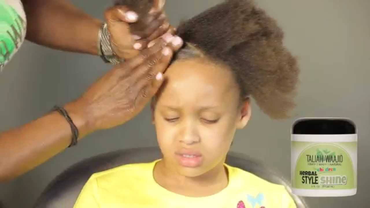 How To Detangle And Style Childs 4 C Hair Childrens Care