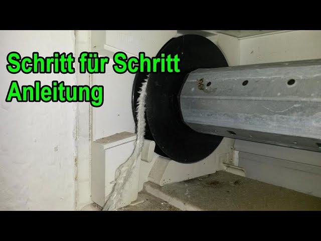Rolladengurt Wechseln Schritt Fur Schritt Anleitung Rolladen Aussen Jalousie Gurt Reparieren Youtube