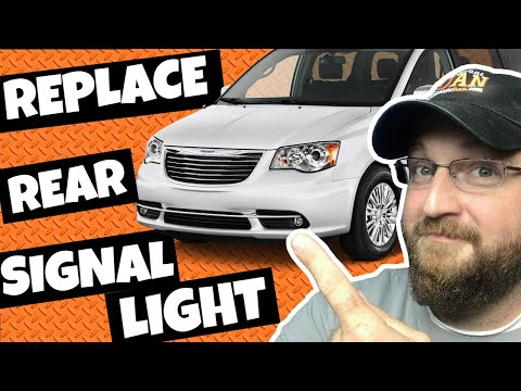 How to Replace Rear Signal Light Town and Country