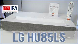 LG HU85LS -  4K HDR Beamer Hands on (GER)
