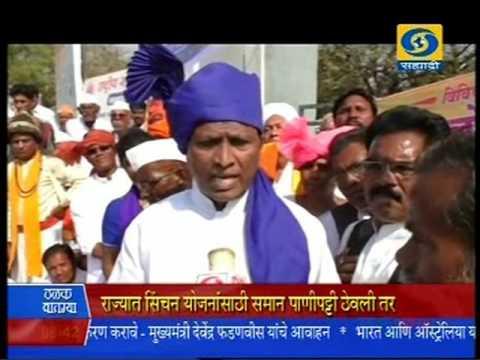 Mr.Vishnu Shinde {singer,lyricist,music director} DD Sahyadri News 17 Feb 2016
