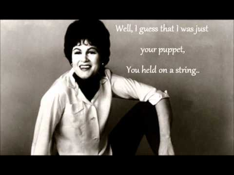 strange by patsy cline (lyric video)