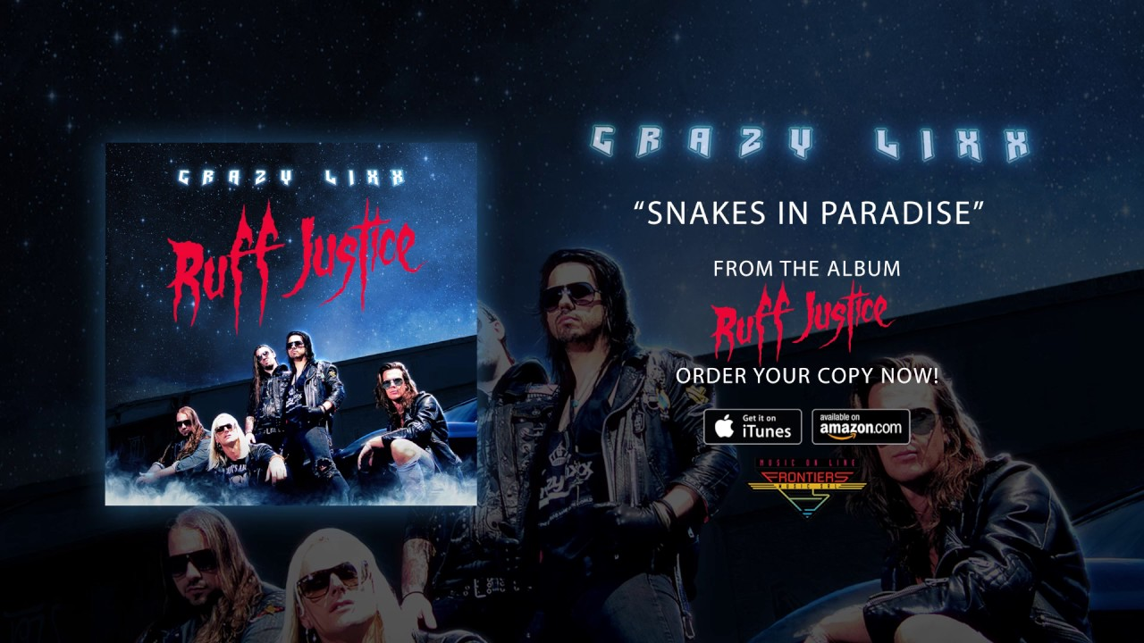 crazy-lixx-snakes-in-paradise-official-audio-frontiers-music-srl