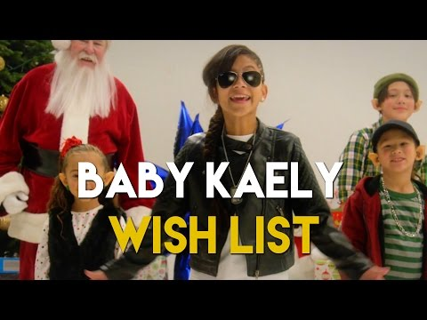 "BABY KAELY 'WISH LIST"" CHRISTMAS ​SONG ​9 YR OLD KID RAPPER"