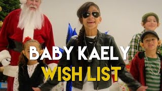 "'wish List"" Christmas ​rap  By ​9 Year Old ""baby Kaely""​!!"