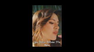 Download Raisa - You Better Believe Me (Lirik) #shorts