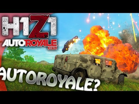 AUTOROYALE?!?! Well GREAT! Now I Have To REINSTALL H1Z1! | H1Z1 Gameplay King Of The Kill KOTK PC