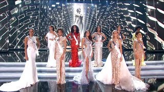 (ENGLISH HD) Miss Universe 2017 - Top 5 Announcement