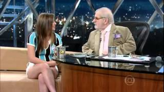Jô Soares entrevista Thauane de Medeiros - GLOBO 17/06/2013