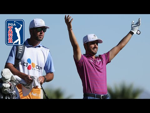 Abraham Ancer holes out for albatross at THE CJ CUP