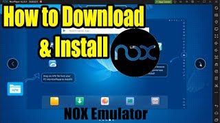 Gambar cover How to Download & Install NOX player on Windows || NOX Emulator