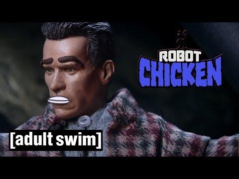 4 Arnold Schwarzenegger Movies | Robot Chicken | Adult Swim