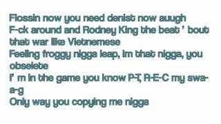 Tyga Ft. Honey Cocaine Heisman Part 1 LYRICS