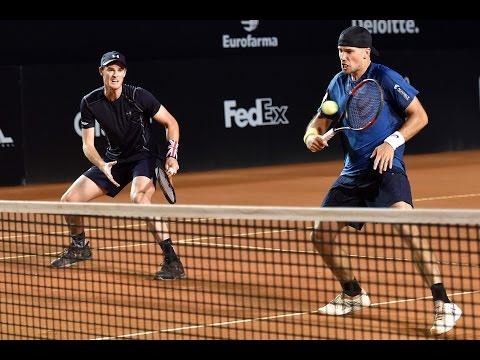 Bruno Soares / Jamie Murray v Pablo Carreno Busta / Pablo Cuevas ATP 500 Rio Open 2017