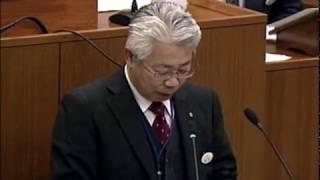 平成26年12月8日米沢市議会一般質問相田光照議員 「農業振興と有機エレクトロニクスについて市長はどう考えるか」
