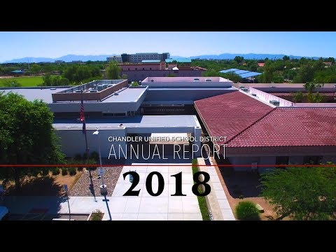2018 Annual Report - Chandler Unified School District