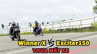 Kèo Cực Căng Winner X vs Exciter150 Thua Mất Luôn Xe