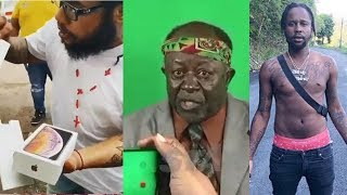 Squashed MOCKED For IPHONE | Fre@ky Pastor Speak Out | Popcaan Blessed | Yeshwa Thanks God