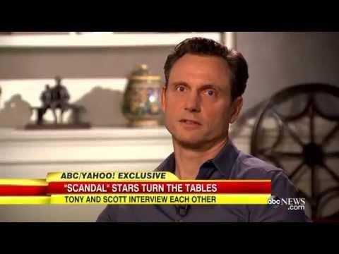"""Scandal:"" Tony Goldwyn and Scott Foley Interview Each Other"