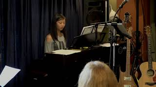 Jessica Performing Pastorale Main Street Music and Art Studio