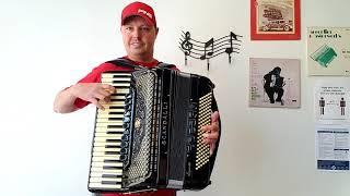 (SOLD!) - Scandalli Super VI - Double Tone Chamber - Video #2 (Carnegie Accordion Company)