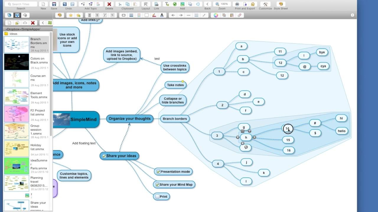 The SimpleMind Mind Map Editor | simplemind