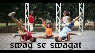 Swag se swagat || kids dance choreography by shrikesh magar