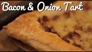 'anything Goes' Bacon And Onion Tart Recipe