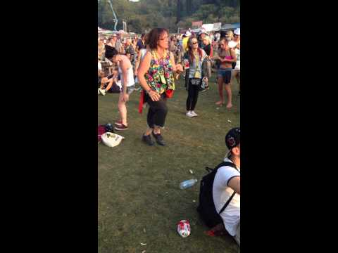 When the beat drops at Bestival 2014