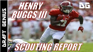 Henry Ruggs III: Alabama WR | 2020 NFL Draft Scouting Report