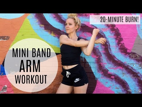 20-Minute Mini Band Arm Workout | MFit