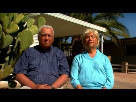 Brentwood West, Arizona 55+ Retirement Community, Resident Testimonial Video 1