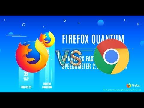 Android : Firefox Quantum Vs Google Chrome