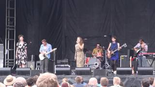 "Paper Bird ""Hold It Down"" Shaky Knees Music Fest, Atlanta, GA 05.11.14"