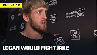 Logan Paul Talks Possible Fight Against His Brother Jake