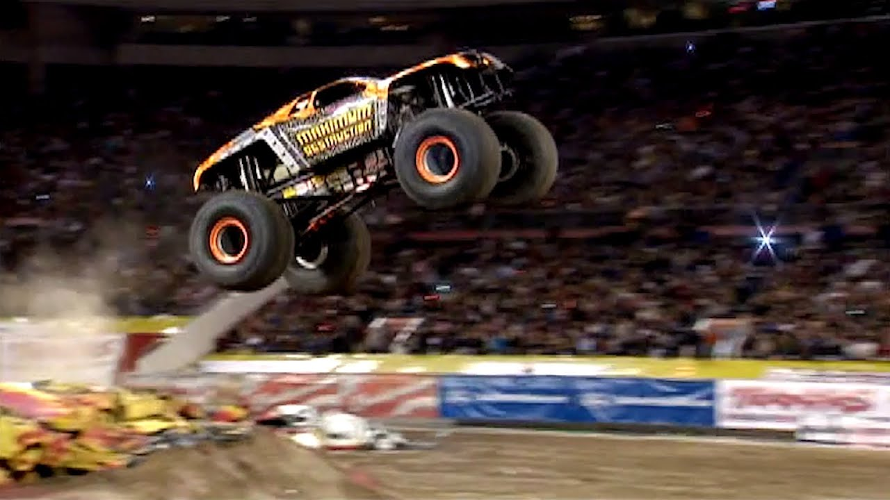 Inside Monster Truck Quot Maximum Destruction Quot Youtube