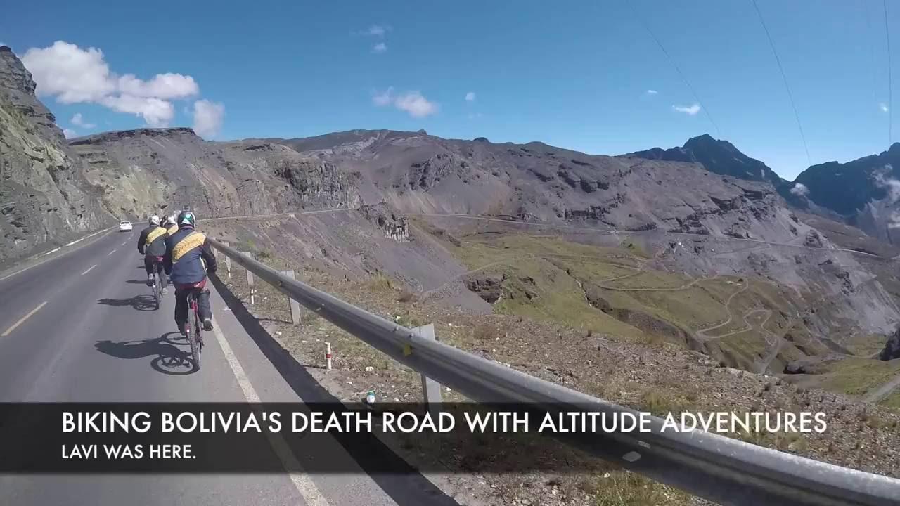 Biking Bolivias Death Road With Altitude Adventures Lavi Was - Altitude here