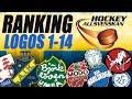 Swedish HockeyAllsvenskan Logos Ranked 1-14