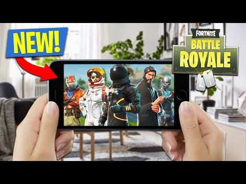 NEW FORTNITE MOBILE iOS LIVESTREAM!! (Fortnite on Mobile Gam