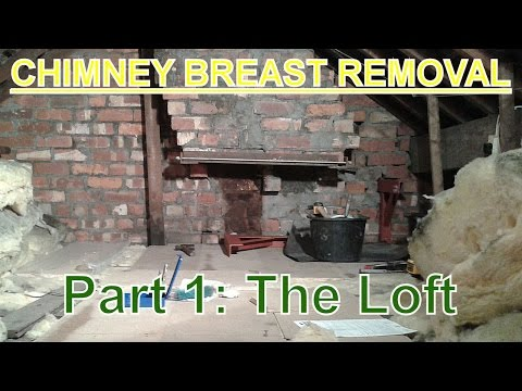Chimney Breast Removal (part 1) The Loft.