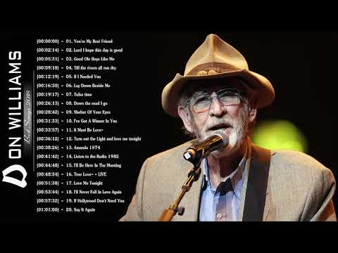 Don Williams Greatest Hits 2020 - Best Of Songs Don Williams - Don Williams Best Songs