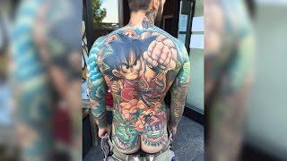 10 GENIALE Anime-Tattoos !