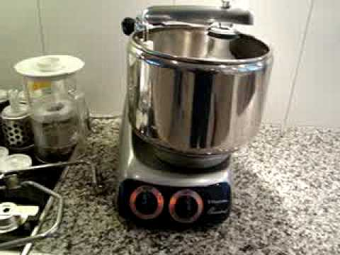 Electrolux Assistent N24 Professional Food Mixer Youtube