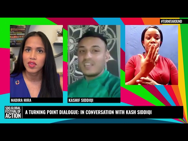 A Turning Point Dialogue: In Conversation with Kash Siddiqi (French)
