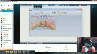 Livestream Moment - Pat's Hentai Art