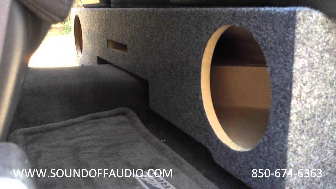 New 07 And Up Chevrolet Ext Cab Ported Speaker Box Youtube