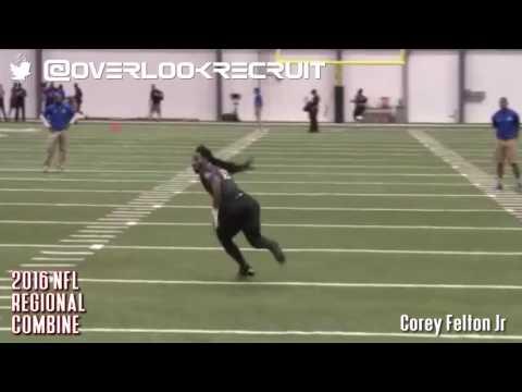 Corey Felton NFL Regional Combine Highlights